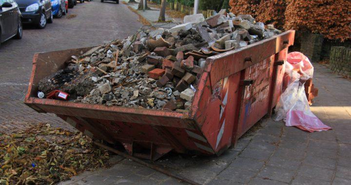 vuilcontainer van Maton Groep